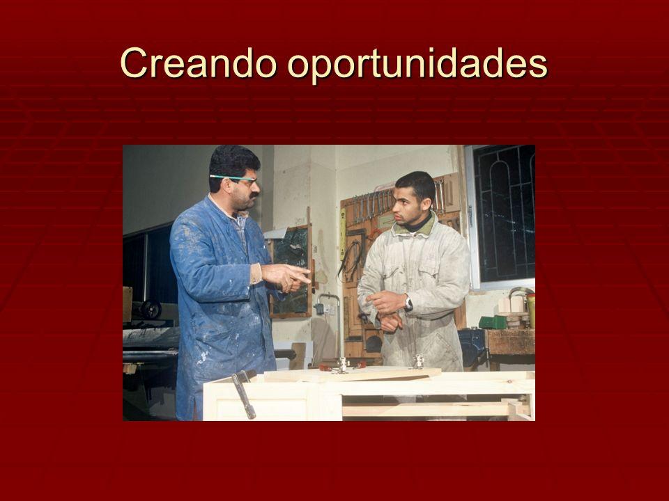 Creando oportunidades