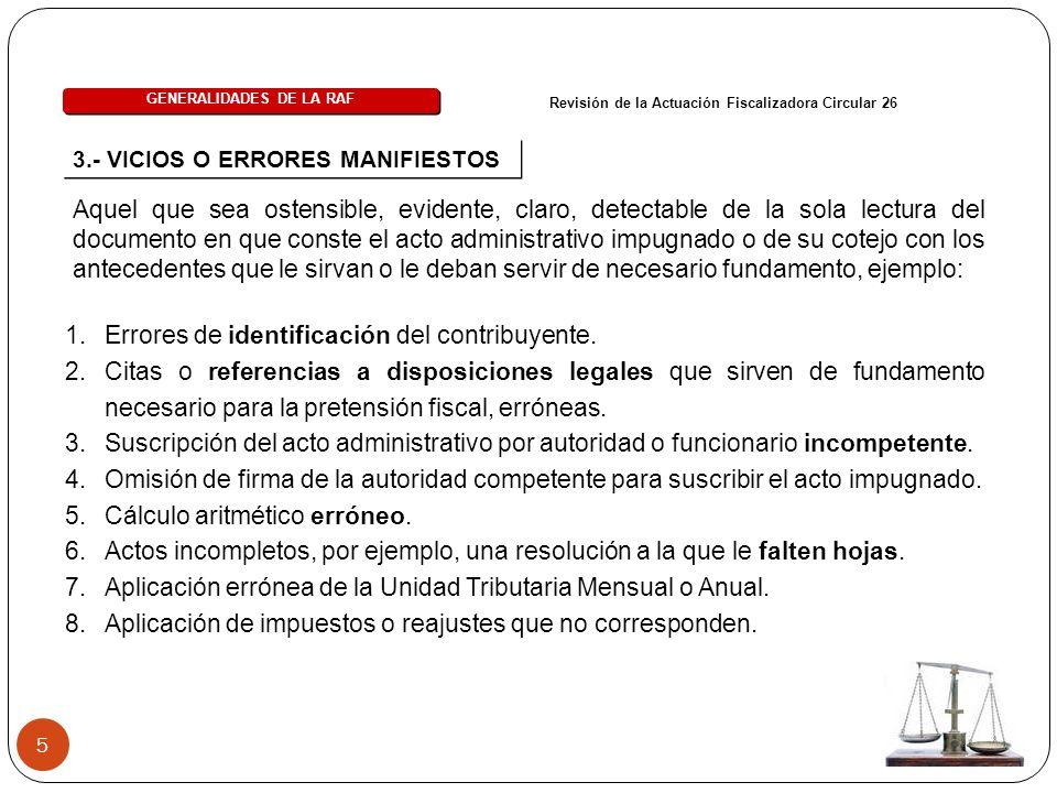 46 2.- ACTA DE DENUNCIA Procedimiento Sancionatorio General Art.