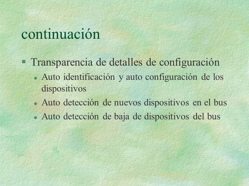 Message Pipes §La transferencias siguen un formato: Petición-Dato-Estado.