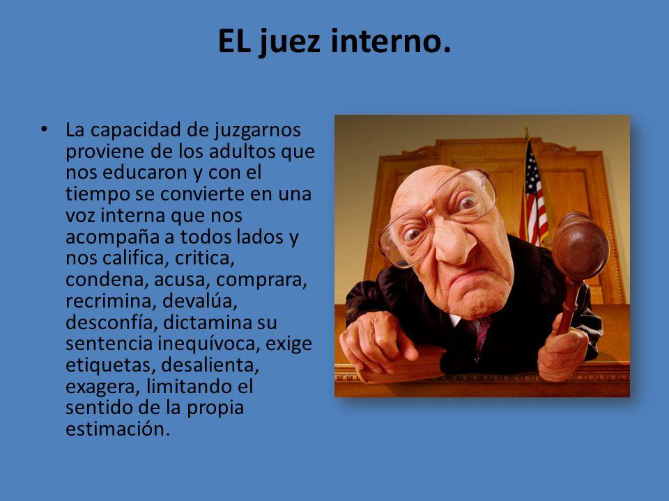 EL juez interno.