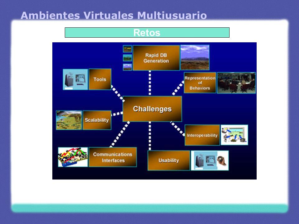Ambientes Virtuales Multiusuario Retos