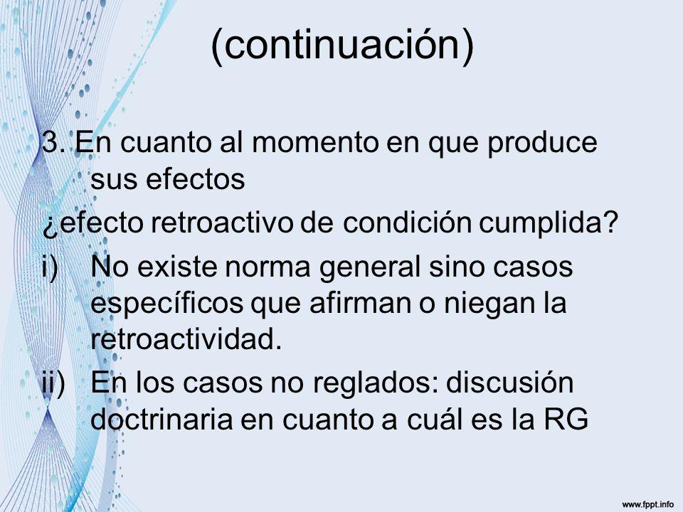 Actos de disposición respecto de muebles (1490) Principio: protección de buena fe del 3º que adquiere del deudor condicional resolutorio.