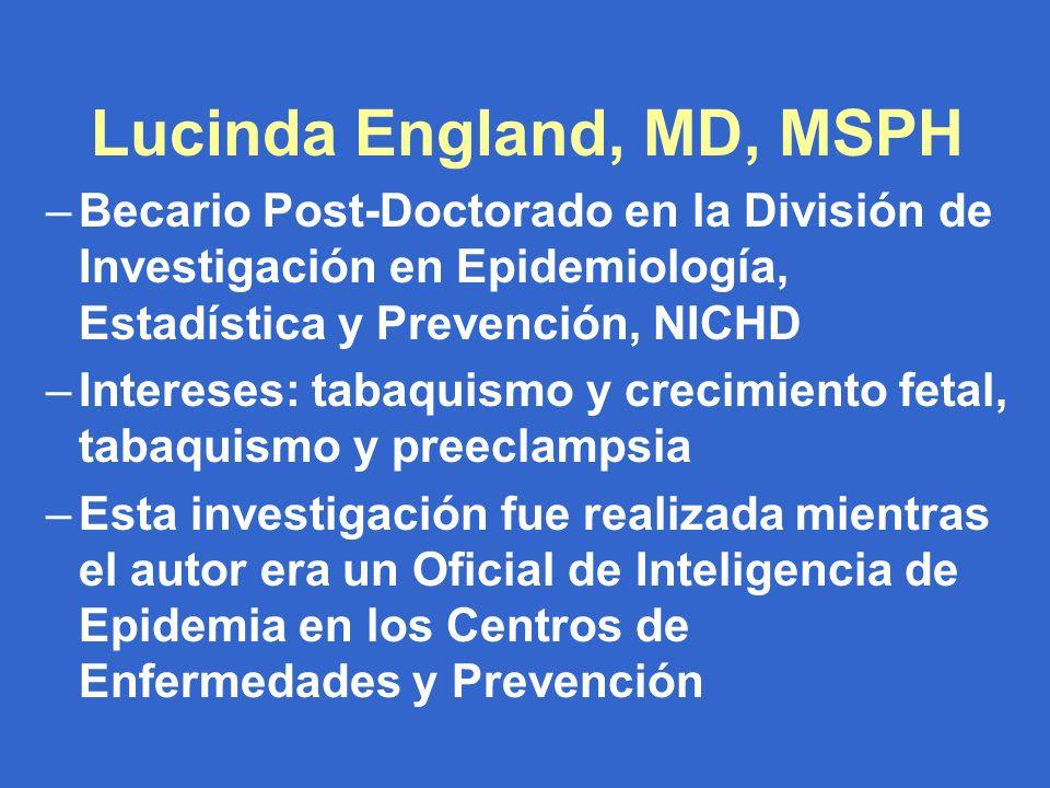 Fuente de datos: Un proyecto colaborativo entre CDC y tres departamentos de salud estatal.