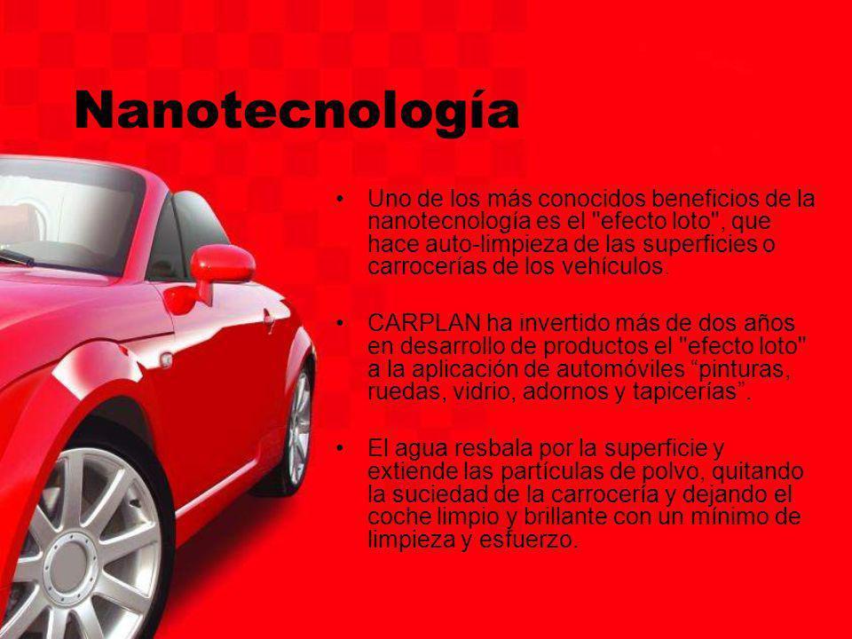 Nanotecnología Uno de los más conocidos beneficios de la nanotecnología es el