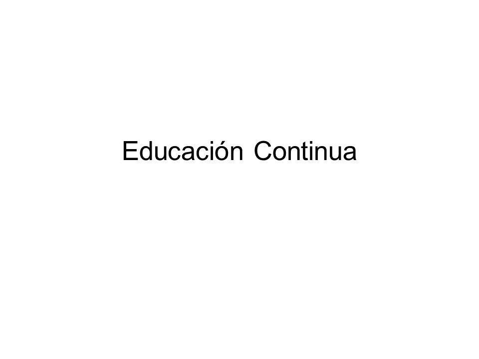La Fuerza Motriz económica de la Educación Continua : En el mundo moderno, un compromiso de aprendizaje a través de toda la vida es una demanda real y creciente por la población en general.