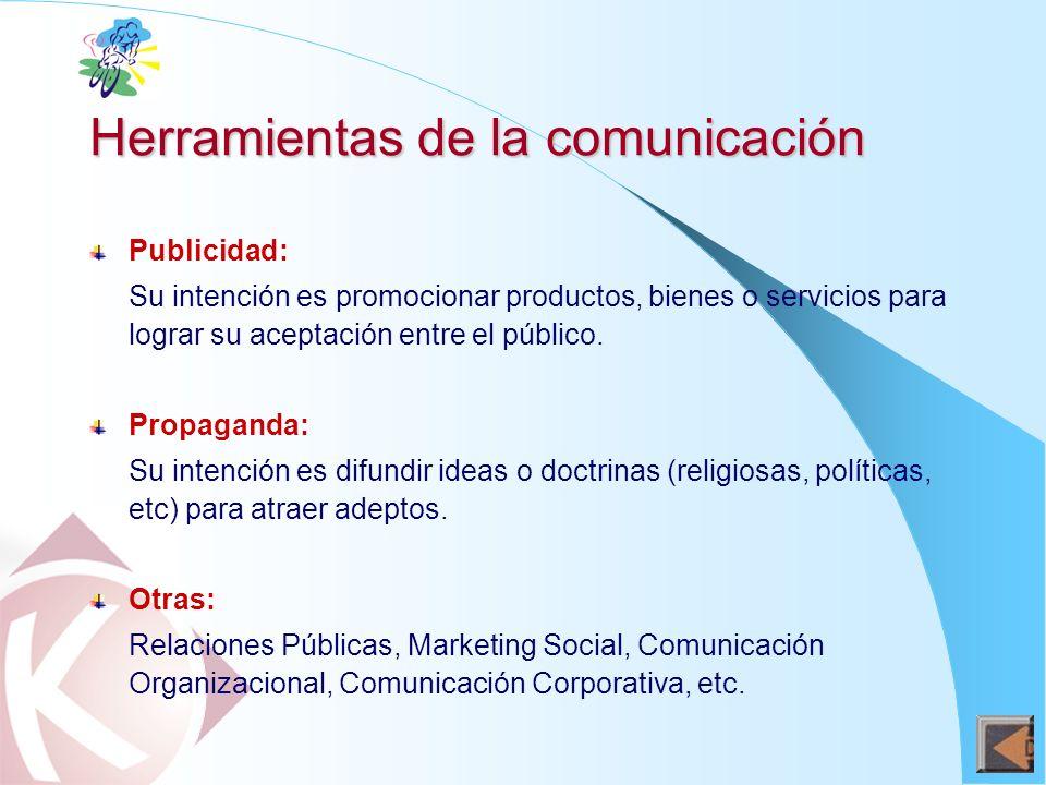 Plan para alcanzar el objetivo de modificar la conducta de públicos objetivos (incluye objetivos, finalidades y condiciones de desarrollo), utilizando herramientas de la comunicación.