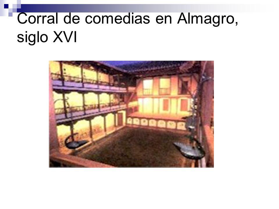 Corral de comedias en Almagro, siglo XVI