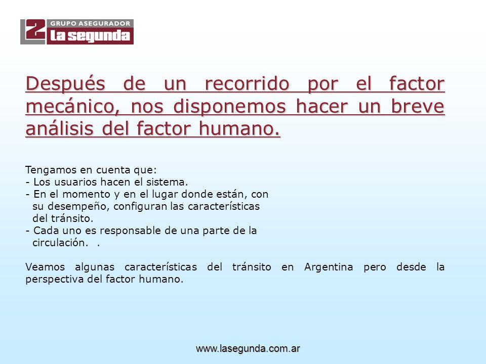 Después de un recorrido por el factor mecánico, nos disponemos hacer un breve análisis del factor humano.