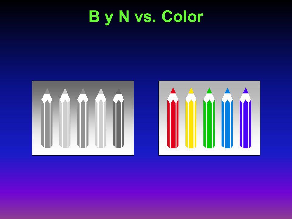 B y N vs. Color