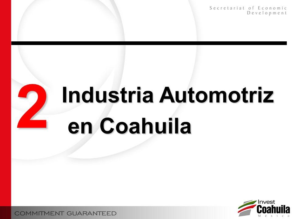 2 Industria Automotriz en Coahuila en Coahuila