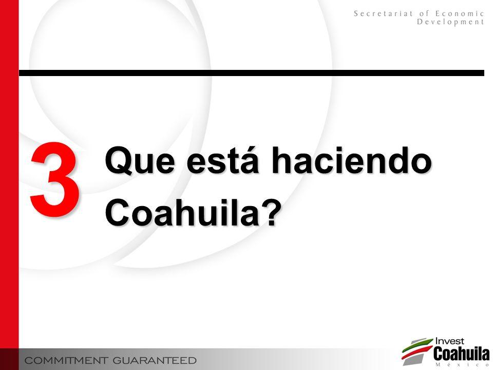 3 Que está haciendo Coahuila?