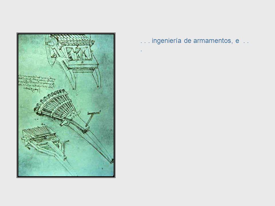 ... arquitectura... Da Vinci, cont. – Architecture