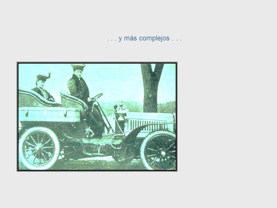 Los sistemas de transporte se hicieron más complejos... Systems Complexity, cont.