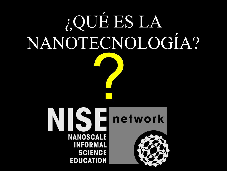 ¿QUÉ ES LA NANOTECNOLOGÍA? ?