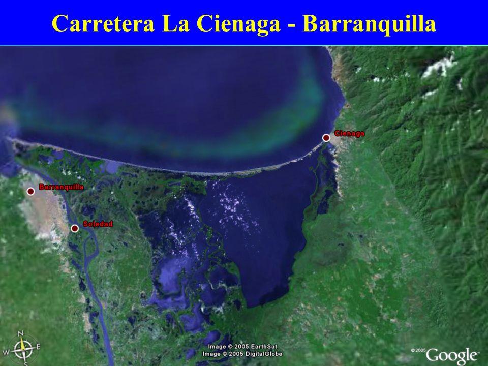 Carretera La Cienaga - Barranquilla