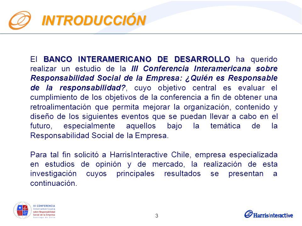 3 BANCO INTERAMERICANO DE DESARROLLO El BANCO INTERAMERICANO DE DESARROLLO ha querido realizar un estudio de la III Conferencia Interamericana sobre R