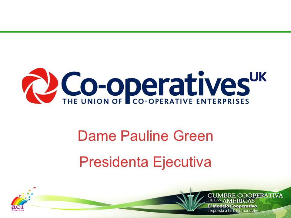 Dame Pauline Green Presidenta Ejecutiva
