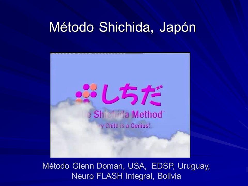 Método Shichida, Japón Método Glenn Doman, USA, EDSP, Uruguay, Neuro FLASH Integral, Bolivia