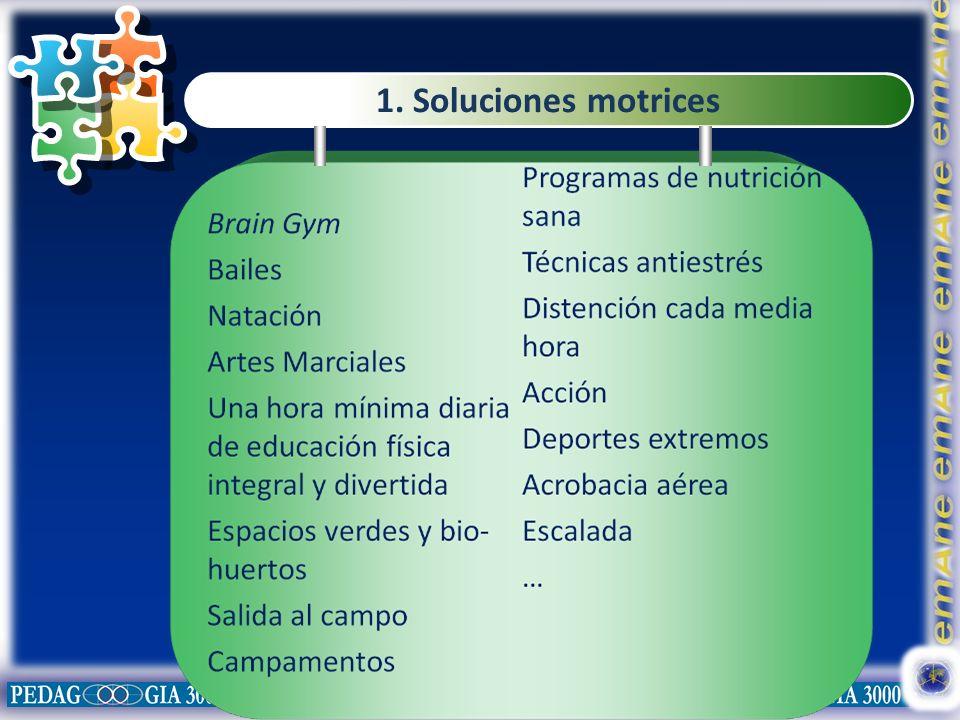 1. Soluciones motrices
