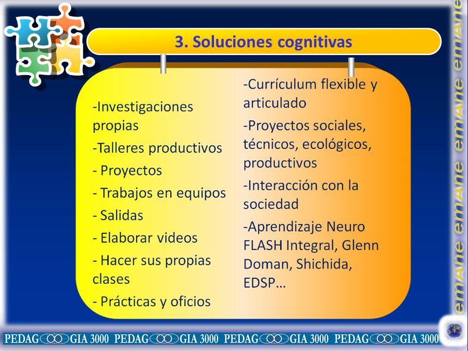 3. Soluciones cognitivas