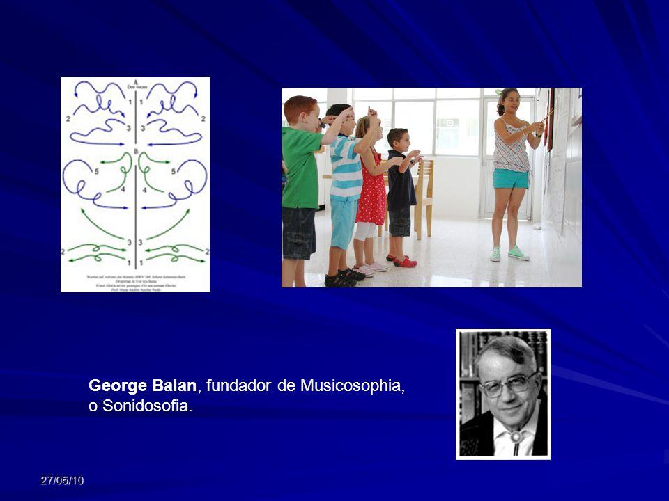 George Balan, fundador de Musicosophia, o Sonidosofia.