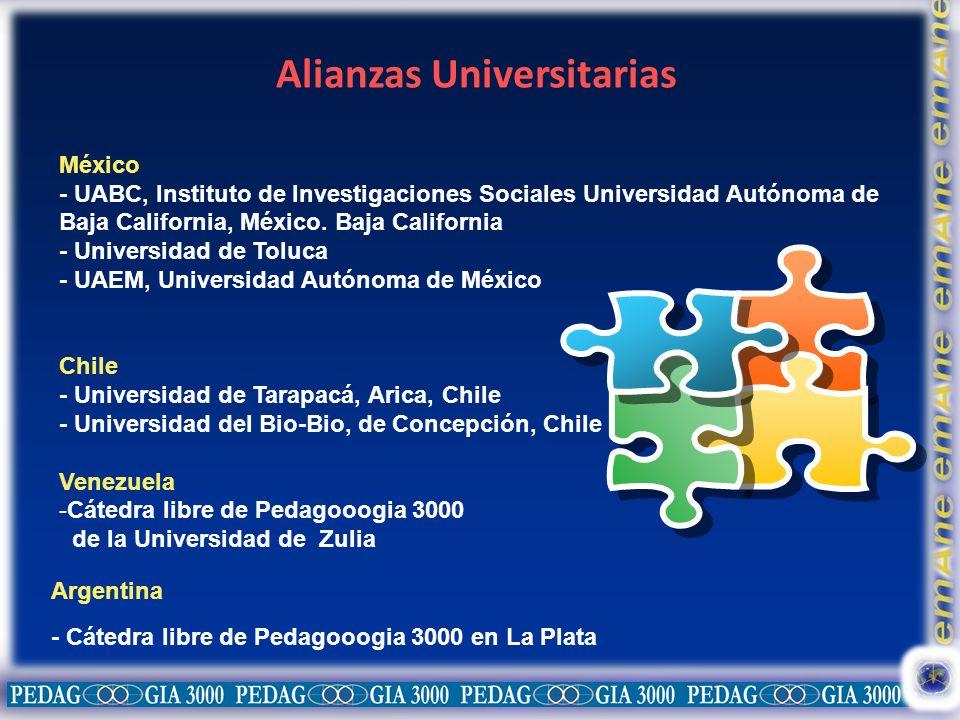 Alianzas Universitarias México - UABC, Instituto de Investigaciones Sociales Universidad Autónoma de Baja California, México. Baja California - Univer