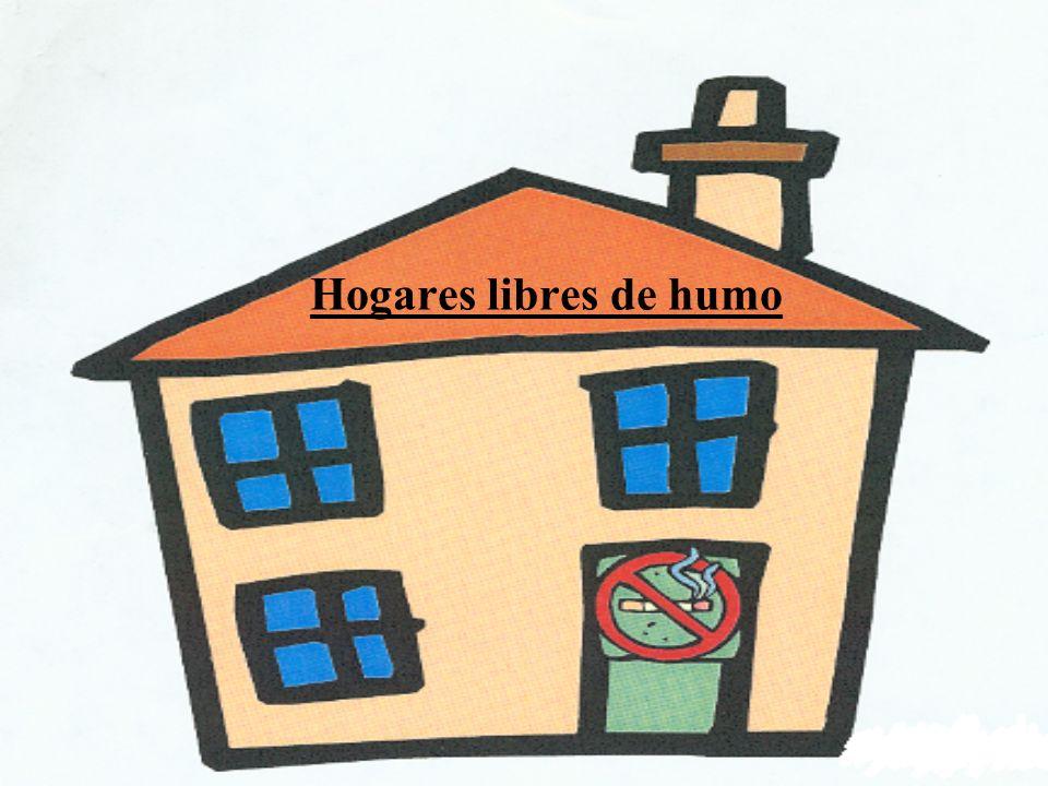 Los objetivos de Hogares sin humo Reducir el humo del cigarillo en los hogares para que no afecte a los niños con asma