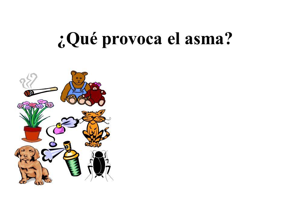 ¿Qué provoca el asma?