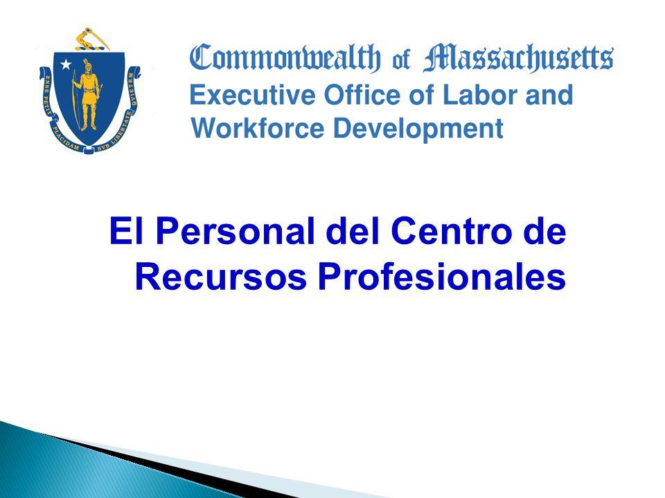 El Personal del Centro de Recursos Profesionales