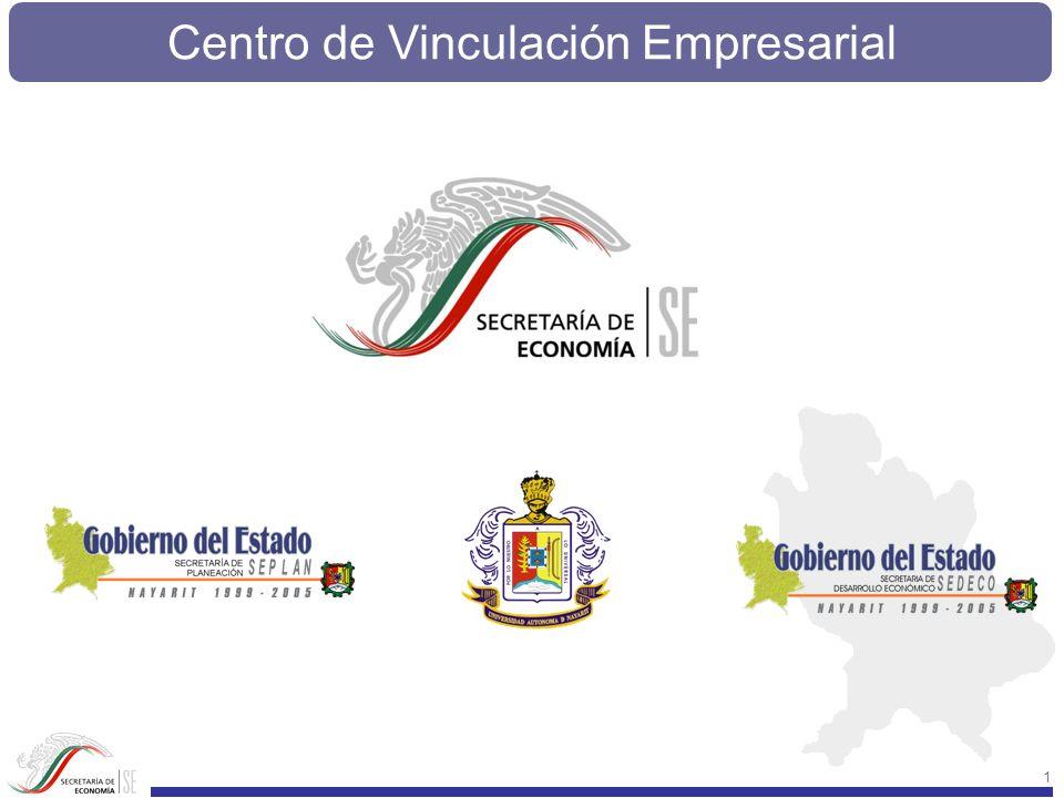 Centro de Vinculación Empresarial 102 Capacidades instaladas de producción de insumos y servicios con los que cuenta la UAN CENTRO UNIVERSITARIO DE VINCULACIÓN EMPRESARIAL Y DESARROLLO SUSTENTABLE INFRAESTRUCTURA CUENTA CON UNA SALA DE INFORMATICA Y ÁREA PARA JUNTAS RECURSOS HUMANOS QUE DESARROLLAN DISCIPLINAS DE INTERÉS 1 DOCTORADO ESPECIALIDAD RECURSOS ACUÁTICOS 1 MAESTRÍA EN BIOLOGÍA PESQUERA 1 LICENCIADO EN ECONOMÍA 1 CONTADOR PÚBLICO SERVICIOS ASESORÍA EN CULTIVO DE PECES Y CAMARONES ELABORACIÓN Y GESTIÓN DE PROYECTOS MONITOREO DE CALIDAD DEL AGUA