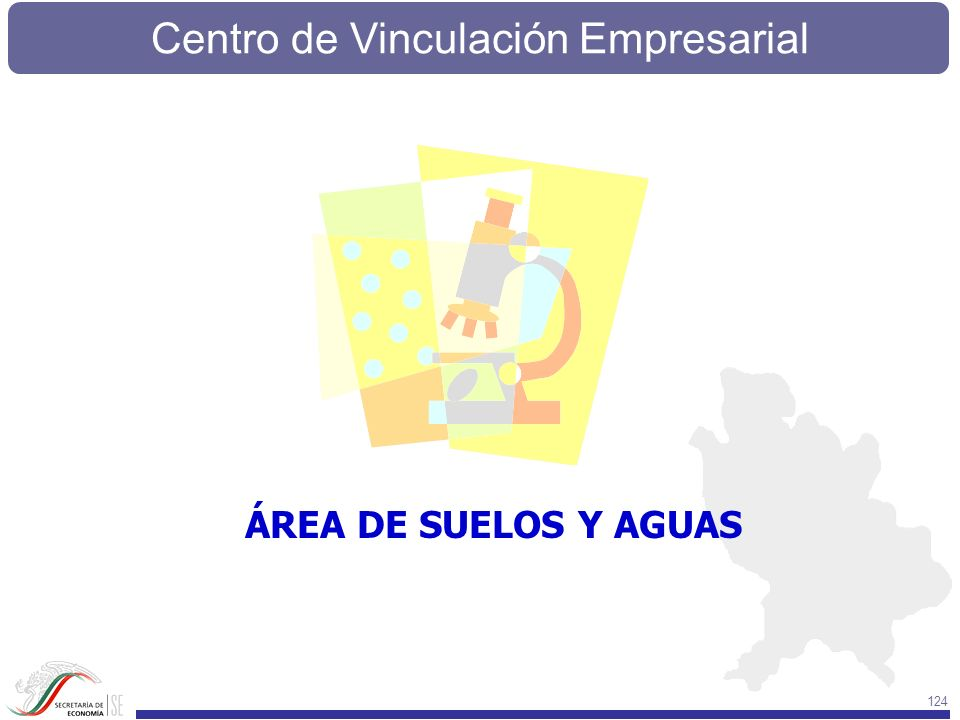 Centro de Vinculación Empresarial 124 ÁREA DE SUELOS Y AGUAS
