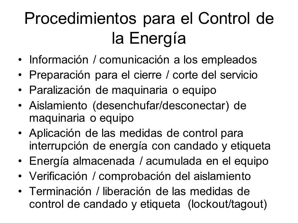 Tipos de Energía Eléctrica Mecánica Hidráulica Neumática Química Térmica Otros