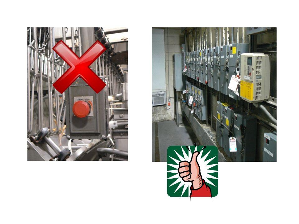 Procedimientos para el Control de la Energía Información / comunicación a los empleados Preparación para el cierre / corte del servicio Paralización de maquinaria o equipo Aislamiento (desenchufar/desconectar) de maquinaria o equipo Aplicación de las medidas de control para interrupción de energía con candado y etiqueta Energía almacenada / acumulada en el equipo Verificación / comprobación del aislamiento Terminación / liberación de las medidas de control de candado y etiqueta (lockout/tagout)