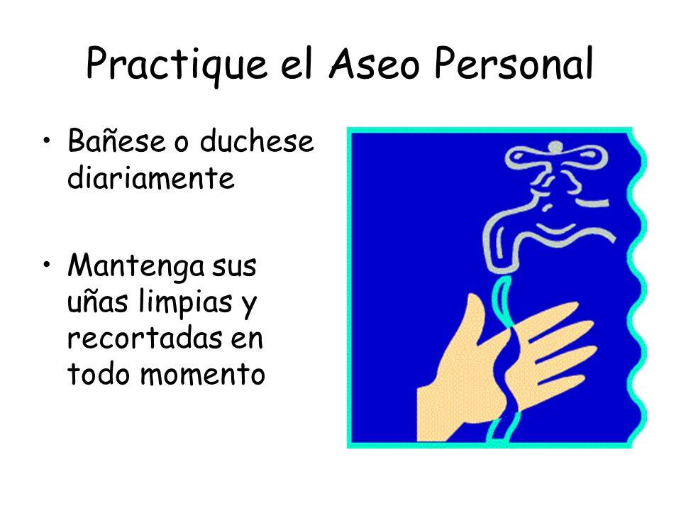 La Práctica de una Buena Higiene Personal por parte de Todos los Empleados incluye: Vestimenta/ropa apropiada Buenos hábitos personales Buena salud Lavarse las manos Manejar/utilizar los productos correctamente