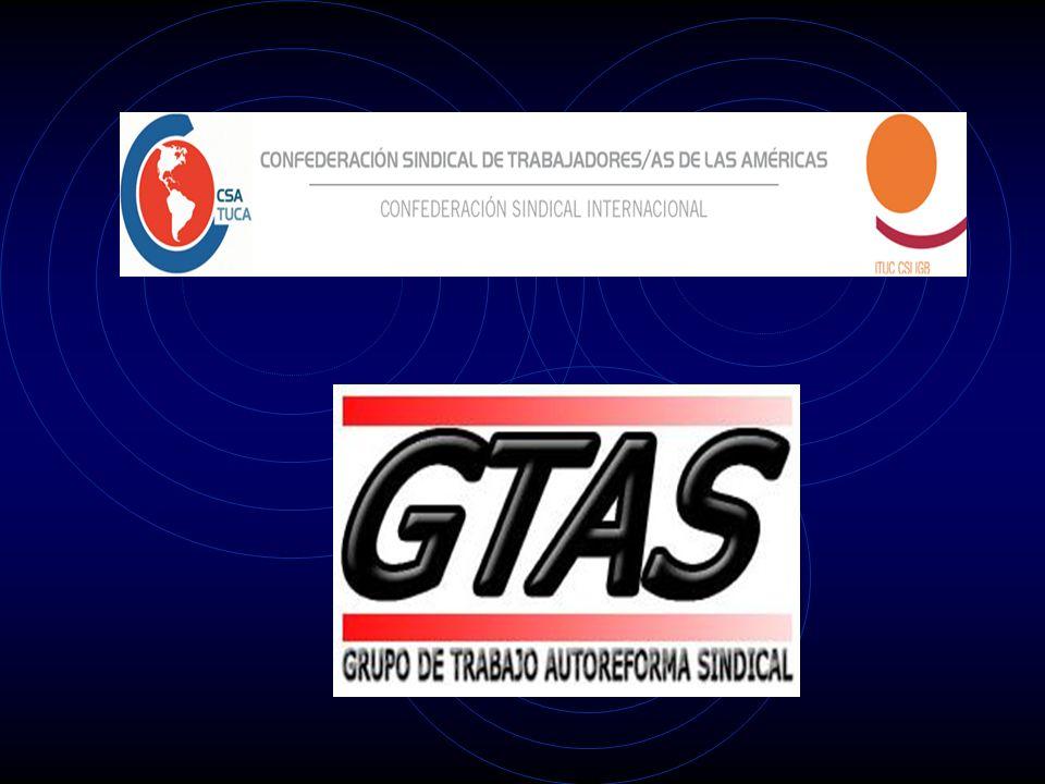 Programa de Acción CSA Panamá, marzo 2008 Eje Autoreforma Sindical