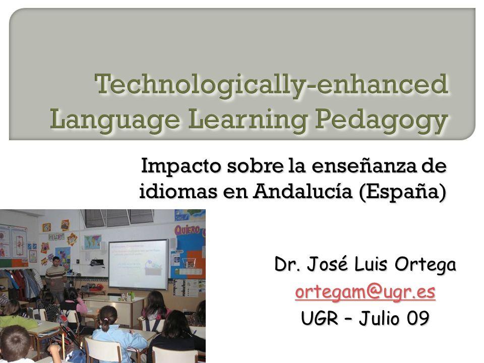 Impacto sobre la enseñanza de idiomas en Andalucía (España) Dr.