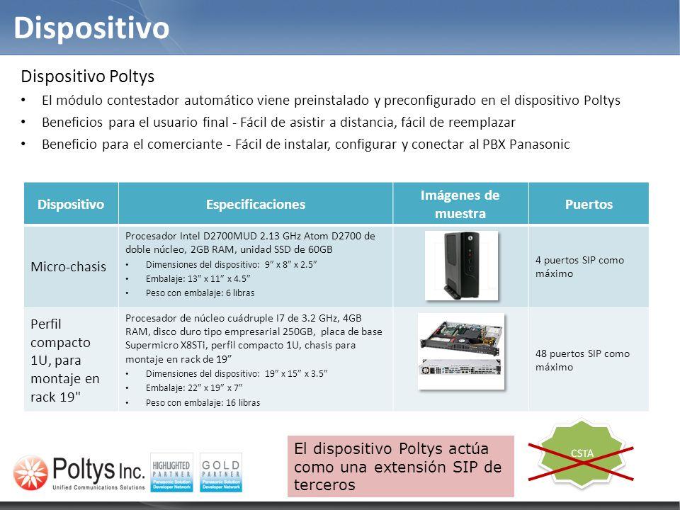 DispositivoEspecificaciones Imágenes de muestra Puertos Micro-chasis Procesador Intel D2700MUD 2.13 GHz Atom D2700 de doble núcleo, 2GB RAM, unidad SS