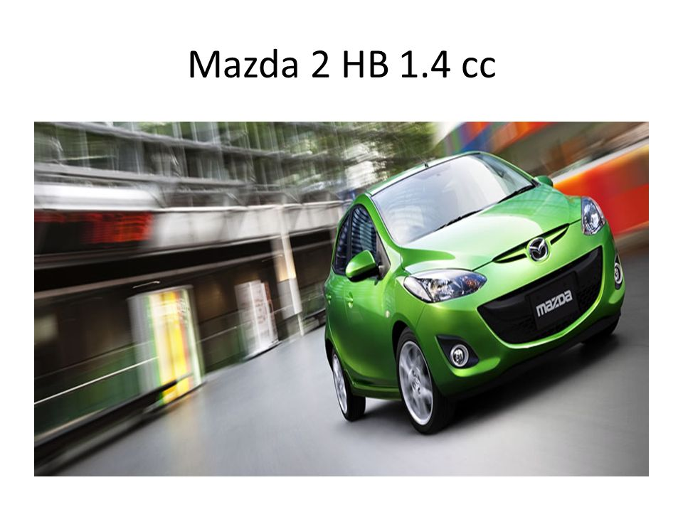 Mazda 2 HB 1.4 cc