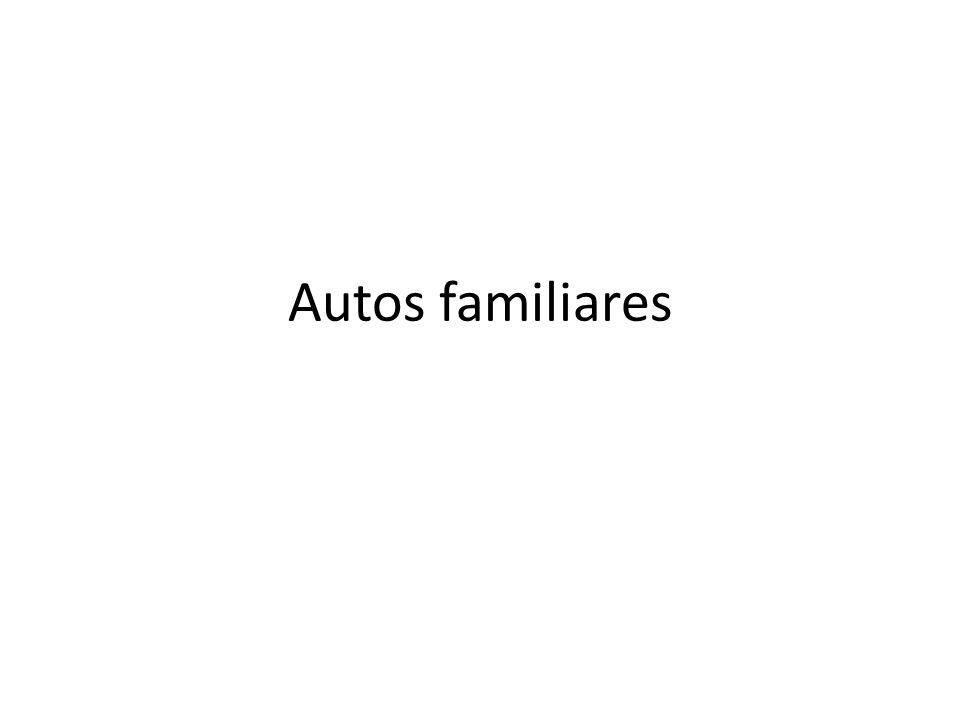 Autos familiares
