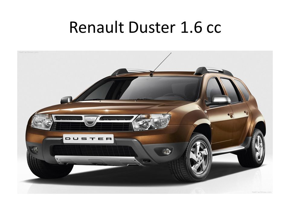 Renault Duster 1.6 cc