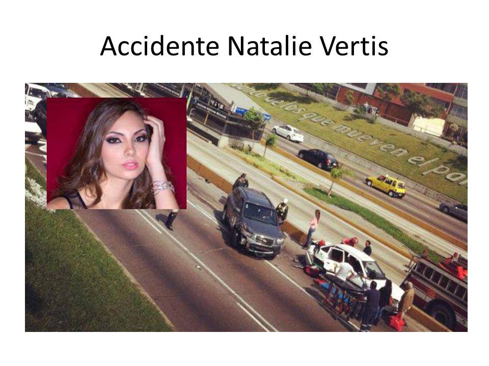 Accidente Natalie Vertis