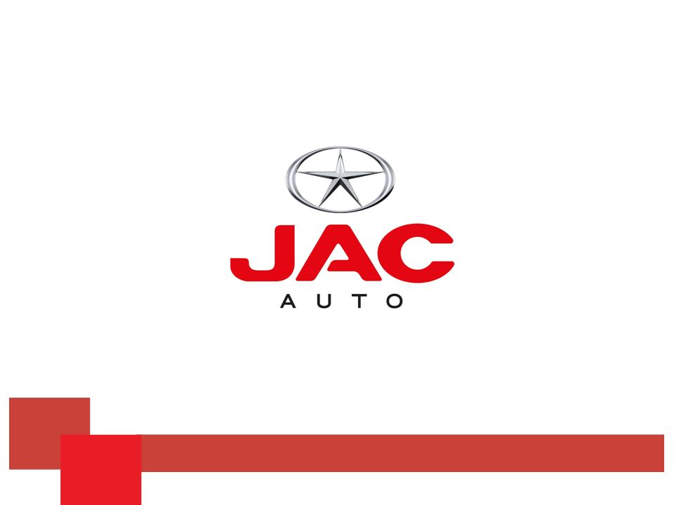 Jac Motors en el Mundo Jac Motors comenzó su actividad en el año 1964 con la producción de chasis para autobuses en China, pasando luego a producir y comercializar vehículos comerciales pequeños: vans, automóviles e incorporando finalmente a su cartera de productos camiones medianos y camiones pesados.