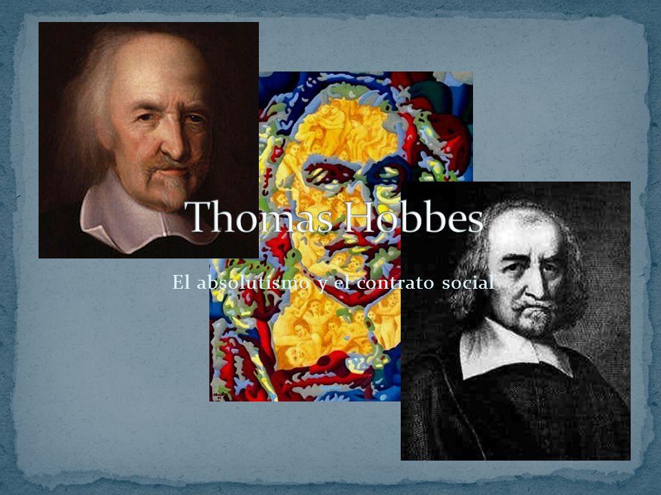 Hobbes intentó justificar su obra mediante el empirismo.