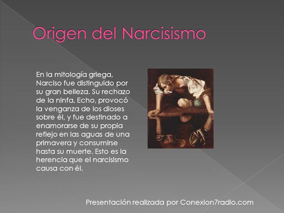 Algunas características del comportamiento narcisista son: Pensar demasiado en lo que los otros piensan de usted frecuentemente.