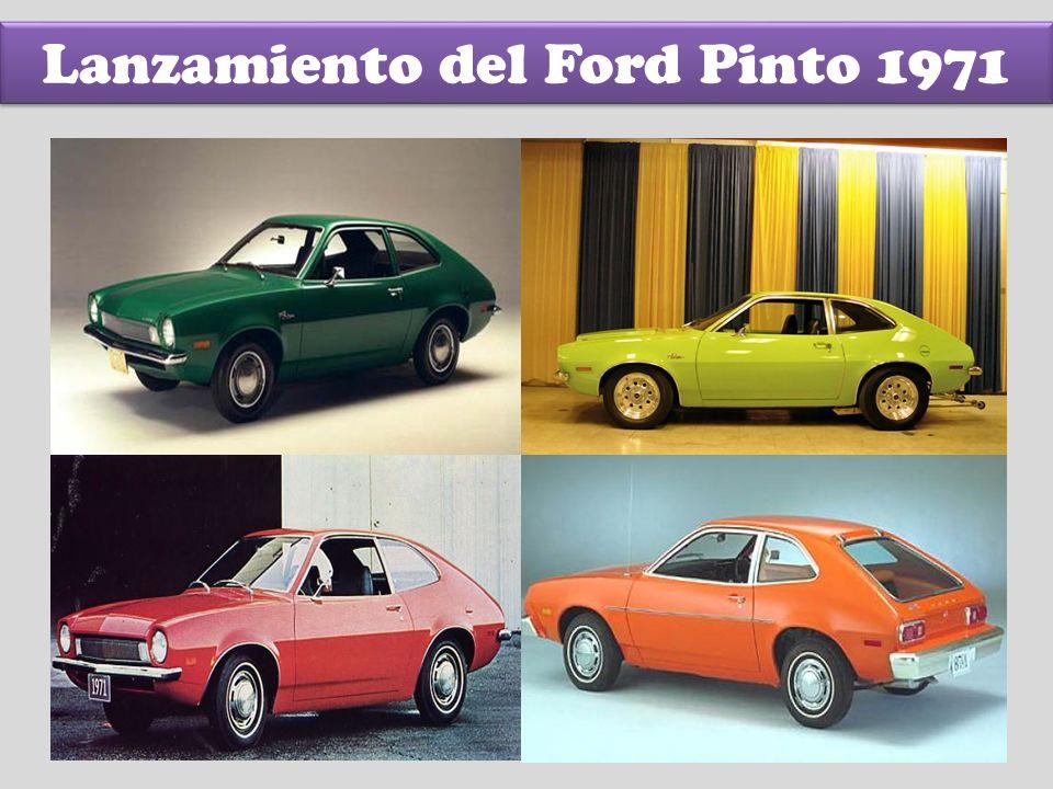Lanzamiento del Ford Pinto 1971