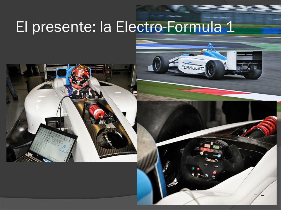 El presente: la Electro-Formula 1