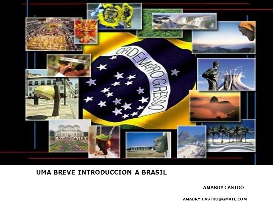 UMA BREVE INTRODUCCION A BRASIL AMABRY CASTRO AMABRY.CASTRO@GMAIL.COM AMABRY CASTRO
