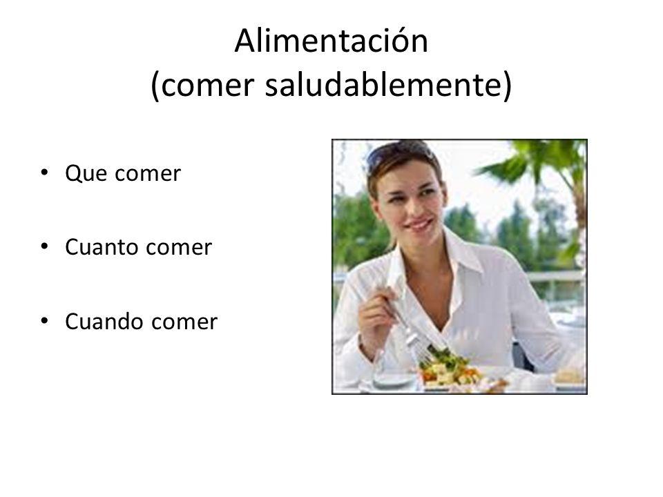 Que comer Cuanto comer Cuando comer Alimentación (comer saludablemente)