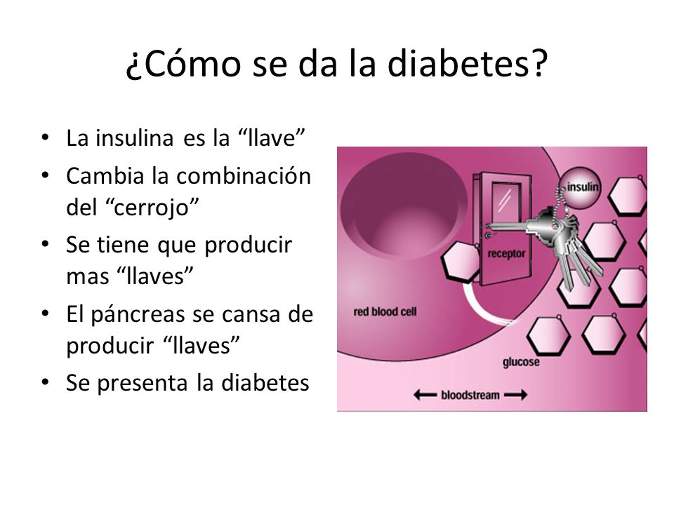¿Cómo se da la diabetes.
