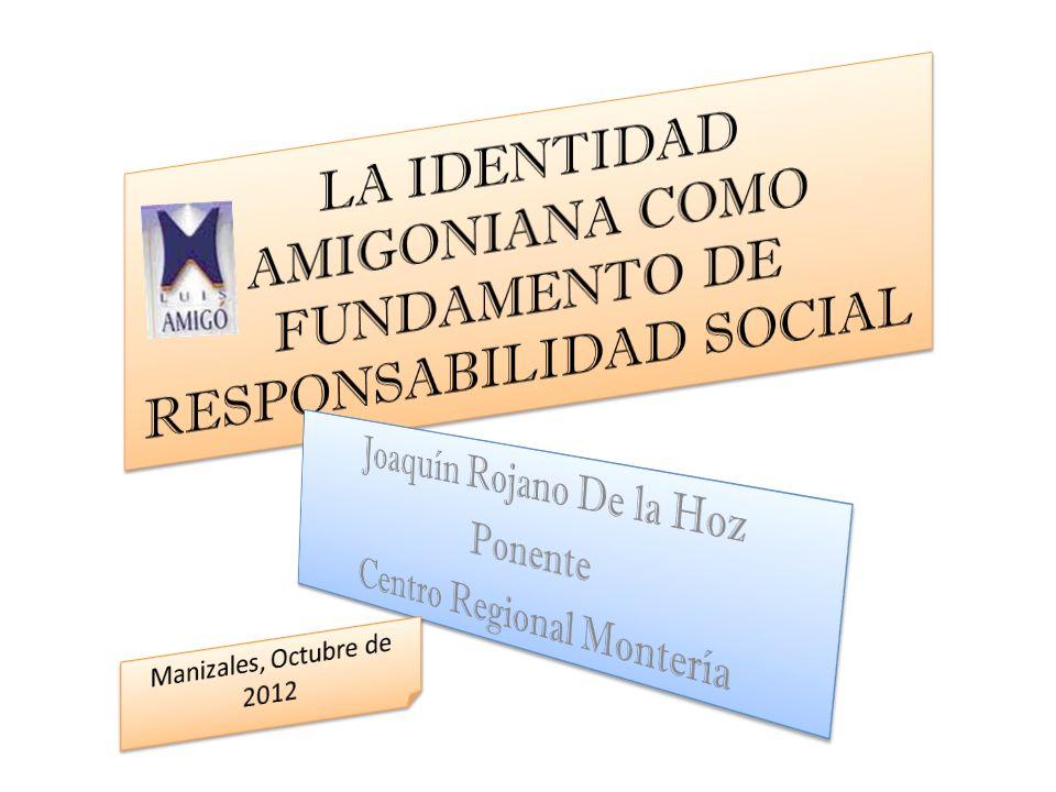 INTENCIONALIDAD ESTA ES LA TEMÁTICA DE UNO DE LOS CUATRO PROYECTOS NACIONALES QUE LA FUNDACIÓN UNIVERSITARIA LUIS AMIGO REALIZA DURANTE LA VIGENCIA DE 2012.